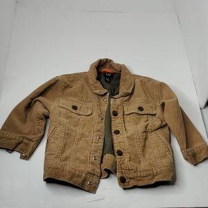 GAP Toddler Couduroy Jacket 2T